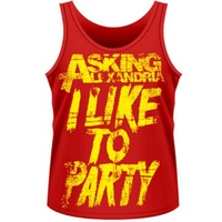 Asking Alexandria I Like To Party Tank Top