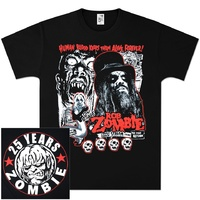 Rob Zombie 25 Years Shirt [Size: XL]
