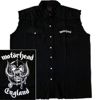 Motorhead England Sleeveless Work Shirt