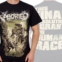 Aborted Global Flatline Shirt
