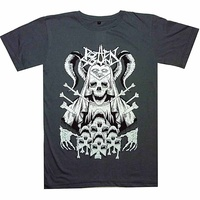 Rotten Sound Species At War Grey Slim Shirt