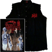 Death Human Sleeveless Work Shirt