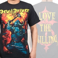 DevilDriver Warrior Shirt Devil Driver