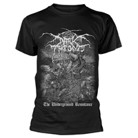 Darkthrone Underground Resistance Shirt Dark Throne
