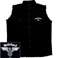 Motorhead Hammered Sleeveless Work Shirt