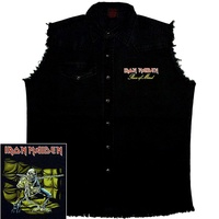 Iron Maiden Piece Of Mind Sleeveless Work Shirt