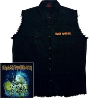 Iron Maiden Live After Death Sleeveless Work Shirt