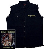 Iron Maiden Somewhere In Time Sleeveless Work Shirt