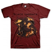 Black Sabbath 13 Maroon Shirt [Size: XL]