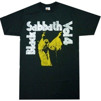 Black Sabbath Vol. 4 Yellow Shirt