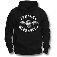 Avenged Sevenfold Classic Deathbat Pullover Hoodie