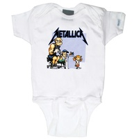 Metallica Tattoo Baby Bodysuit
