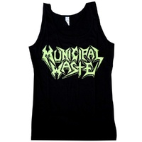 Municipal Waste Logo Womens Tank Top