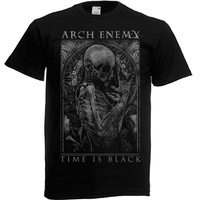 Arch Enemy Time Is Black Shirt