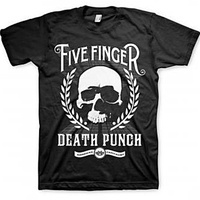 Five Finger Death Punch Skull Zoom Shirt