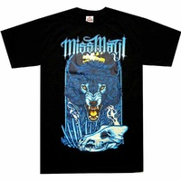 Miss May I Angry Wolf Shirt