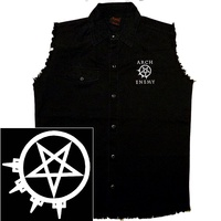 Arch Enemy Logo & Symbol Sleeveless Work Shirt