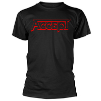 Accept Red Logo Shirt