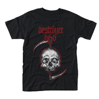 Destroyer 666 Skull Shirt