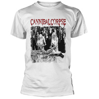 Cannibal Corpse Butchered At Birth White Shirt