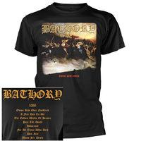 Bathory Blood Fire Death Shirt