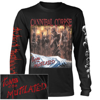 Cannibal Corpse Tomb Of the Mutilated Long Sleeve Shirt