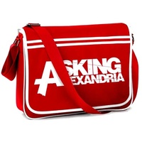 Asking Alexandria Retro Messenger Bag