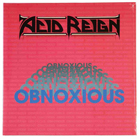 Acid Reign Obnoxious LP Vinyl Record