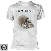 Dream Theater Distance Over Time Album White Shirt