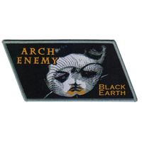 Arch Enemy Black Earth Diagonal Patch