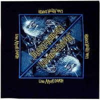 Iron Maiden Live After Death Bandana