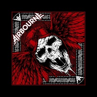 Airbourne Red Skull Bandana