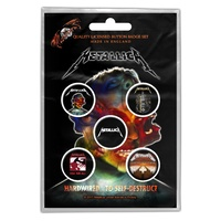 Metallica Hardwired Button Badge Pack