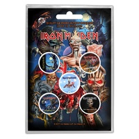 Iron Maiden Later Albums Button Badge Pack