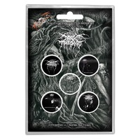 Cradle Of Filth Cryptorania Badge Button Pack
