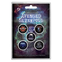 Avenged Sevenfold The Stage Badge Button Pack