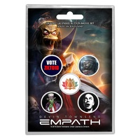 Devin Townsend Ziltoid Button Badge Pack