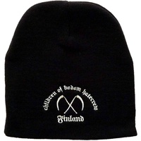Children Of Bodom Hatecrew Finland Embroidered Beanie Hat