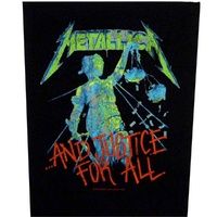 Metallica And Justice For All Back Patch
