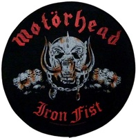 Motorhead Iron Fist Back Patch
