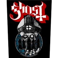Ghost Papa Warriors Back Patch
