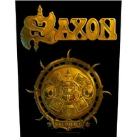 Saxon Sacrifice Back Patch