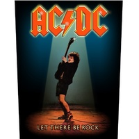AC/DC Let There Be Rock Back Patch