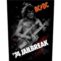 AC/DC '74 Jailbreak Back Patch