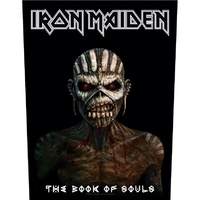 Iron Maiden Book Of Souls Back Patch