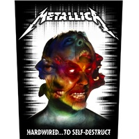 Metallica Hardwired To Self Destruct Back Patch