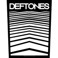 Deftones Abstract Lines Back Patch