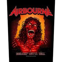 Airbourne Breakin' Outta Hell Back Patch