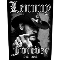 Lemmy Forever Back Patch
