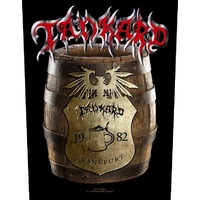 Tankard Die With A Beer Barrel Back Patch